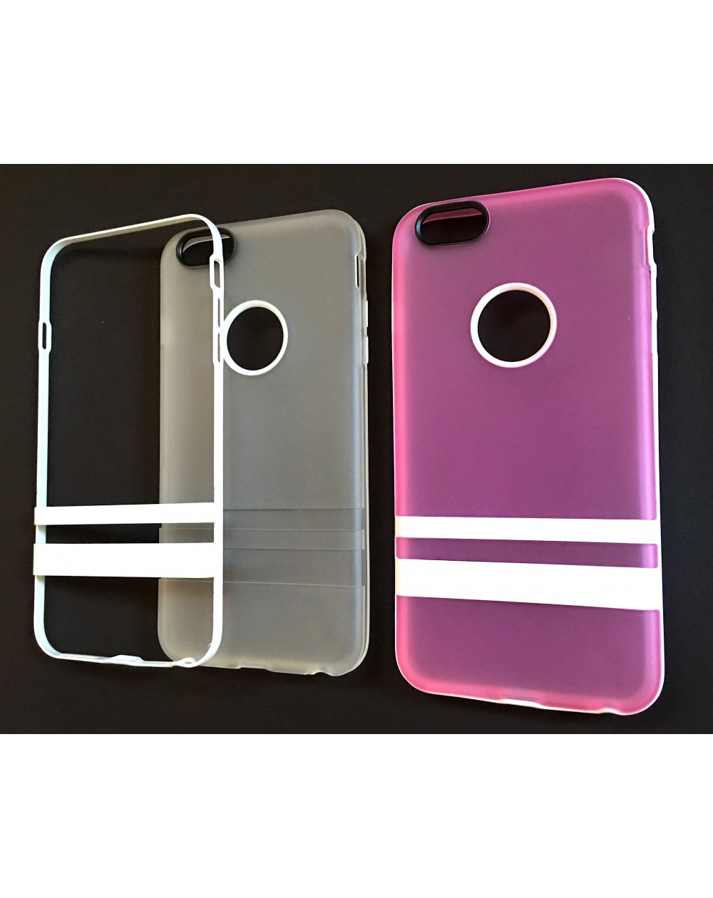 Funda trasera silicona reforzada iphone 6 plus - Fundas iphone silicona ...