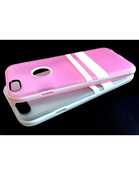 Funda Trasera Silicona Reforzada iPhone 6 plus