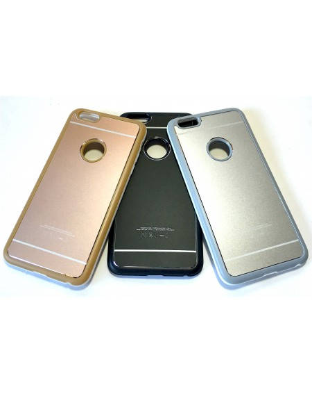 Funda Apple Metal y Borde Silicona iPhone 6 plus