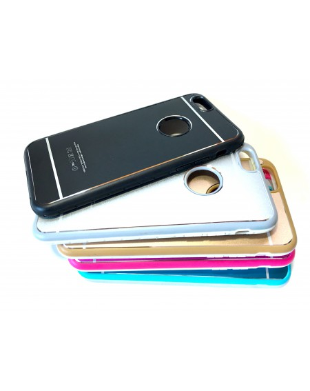 Funda Apple Metal y Borde Silicona iPhone 6