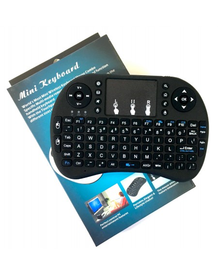 Mini Teclado Inalámbrico TouchPad Smart TV