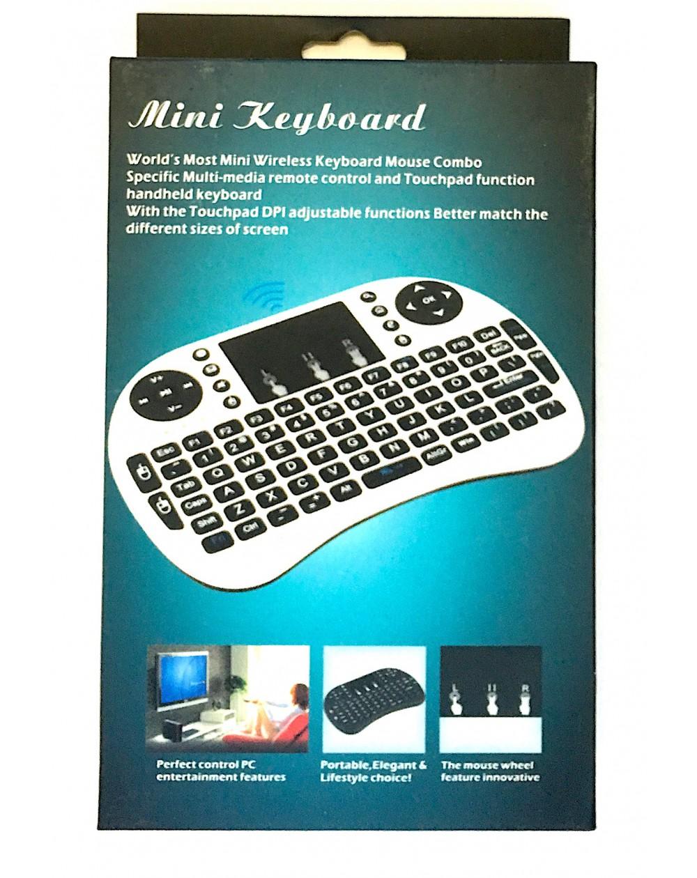 Mini Teclado Inalámbrico TouchPad Smart TV