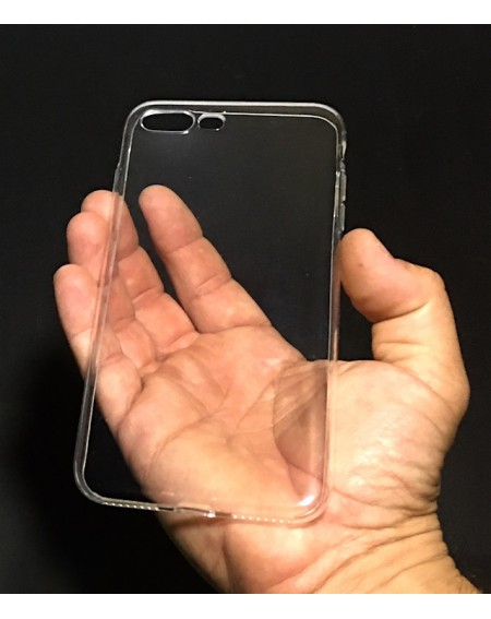 Funda Silicona Trasera Transparente iPhone 7 Plus