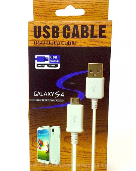 Cable Cargador Micro usb Android