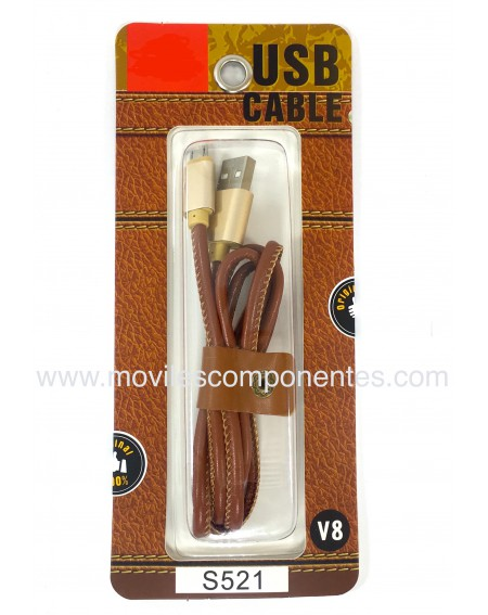 Cable Micro USB Android Cuero