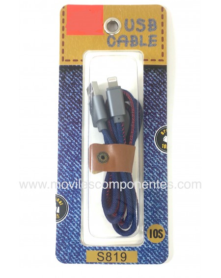 Cable Micro USB iOs Vaquero