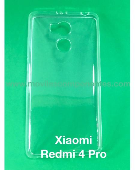 Funda Silicona Transparente Xiaomi Redmi 4 Pro