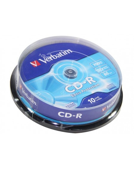 CD-R  Verbatim pack 10 unidades
