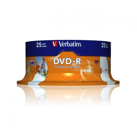 DVD-R Verbatim pack 25 unidades