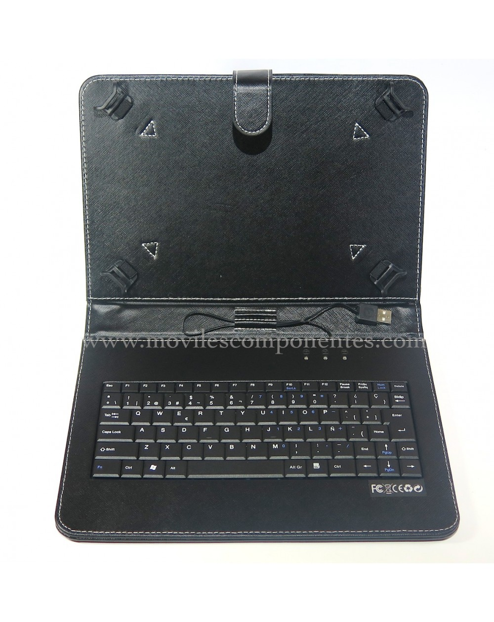 Funda/Teclado 9'' universal tablets