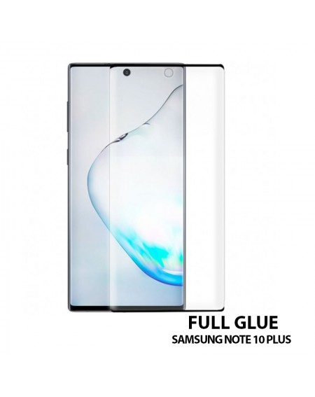 Cristal Protector curvo FULL GLUE Samsung Note 10 Plus