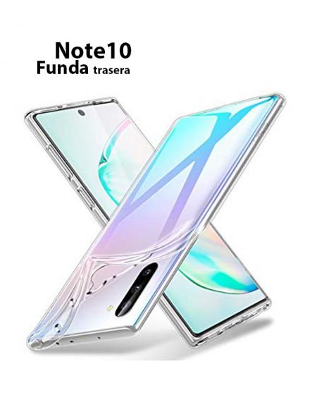 Funda Silicona Trasera Transparente Samsung Note 10