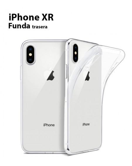 Funda Silicona Trasera Transparente iPhone XR