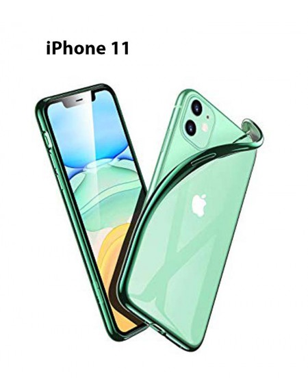 Funda Silicona Trasera Transparente iPhone 11