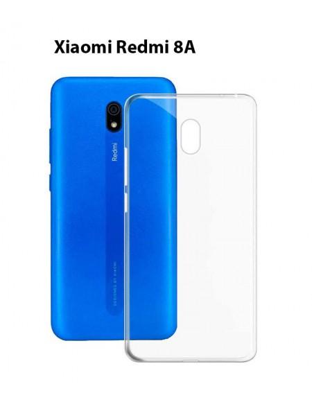 Funda Silicona Trasera Transparente Xiaomi Redmi 8A