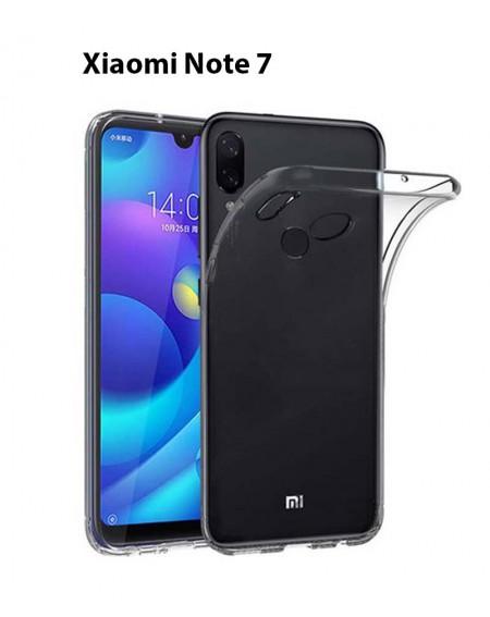 Funda Silicona Trasera Transparente Xiaomi Note 7